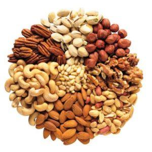 Cremas semillas y frutos secos