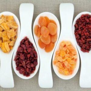 Frutos secos y deshidratados
